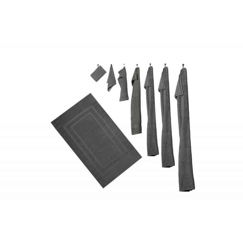 8er set anthrazit 4 handt cher 4 g stet cher in 16. Black Bedroom Furniture Sets. Home Design Ideas