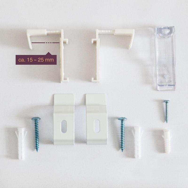 duo doppelrollo klemmfix fensterrollo ohne bohren 17 54. Black Bedroom Furniture Sets. Home Design Ideas