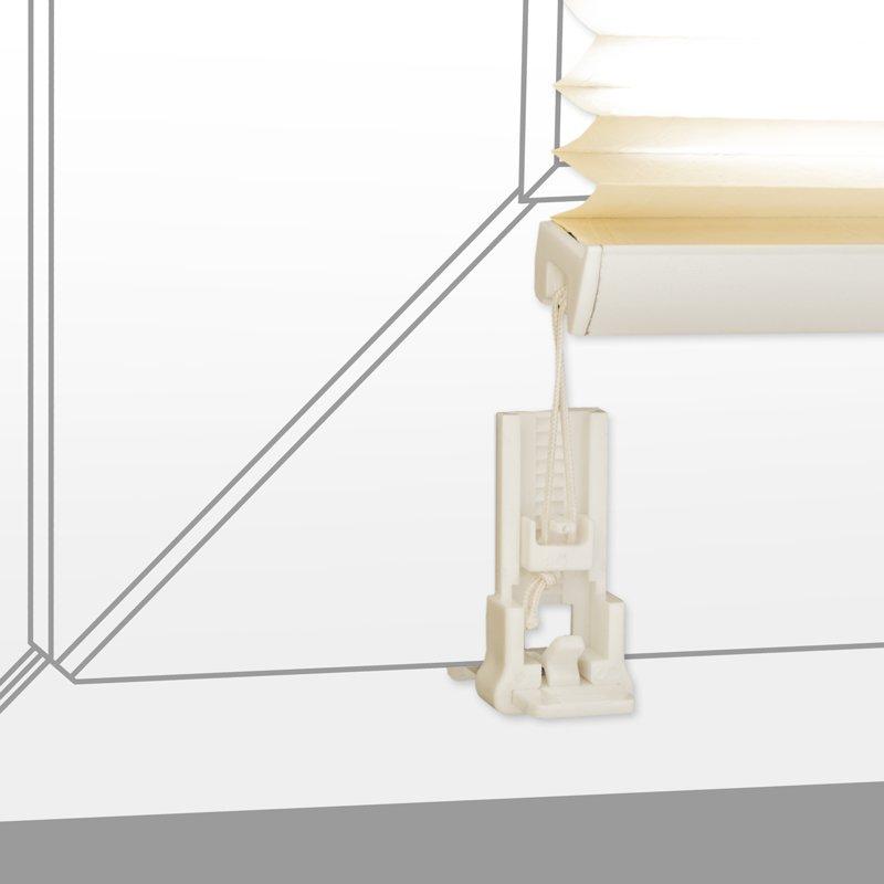 plissee verspannt mit klemmtr gern ohne bohren faltrollo. Black Bedroom Furniture Sets. Home Design Ideas