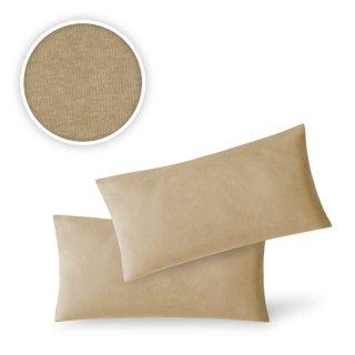 Kissenhülle 2er Pack Kissenbezug Dekokissen 100/% Baumwolle 35x35