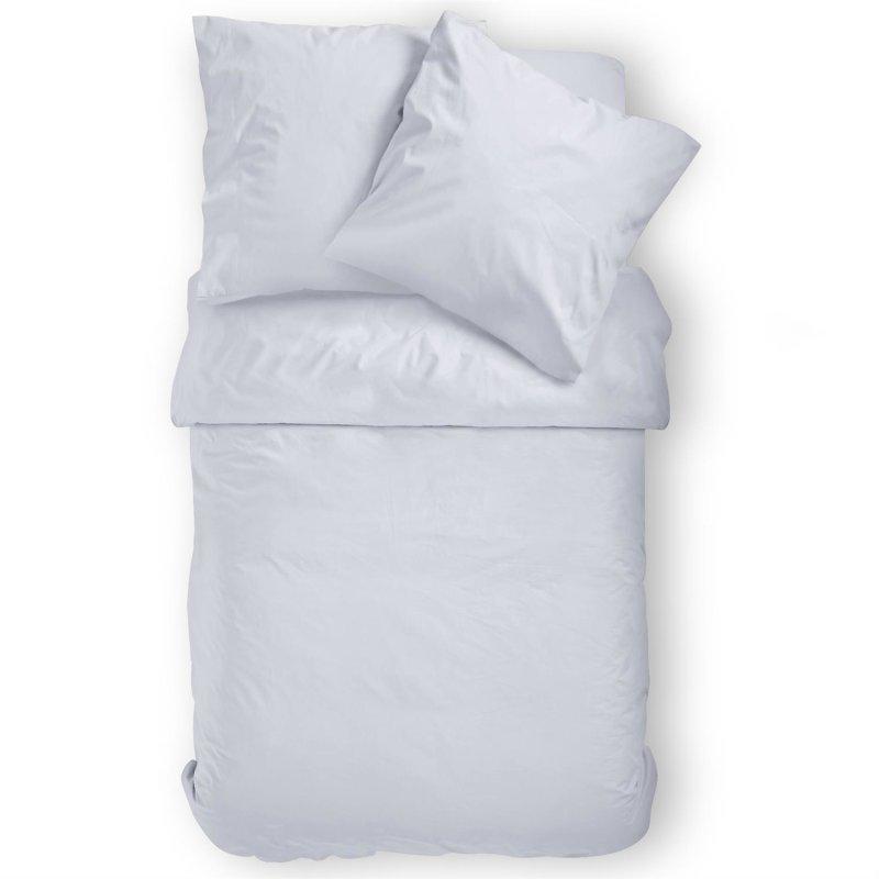 Renforce Bettwäsche 2 teilig 80 x 80cm 155 x 220cm Baumwolle 100/% schwarz weiß