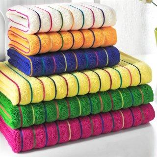 Handtuch Duschtuch Hohe Qualität Frottee Design Rosy V1