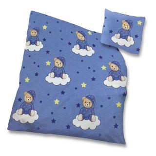 Kinder Baby Baumwoll Bettwäsche 2 Teilig 100x135 Cm 40x60 Cm